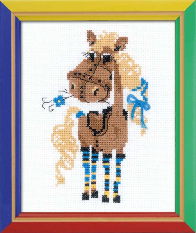 Набор для вышивания крестом Красотка Фру-Фру, 13 см х 16 смНВ141В наборе для вышивания крестом Красотка Фру-Фру есть все необходимое для создания собственного чуда: канва, цветная схема, нитки мулине и игла. Красивый рисунок-вышивка с изображением забавной лошадки будет оригинально смотреться в интерьере вашего помещения. Наборы для вышивки из серии Веселая пчелка отличаются, прежде всего, простыми схемами и легкостью исполнения, так как разрабатывалась они специально для начинающих рукодельниц. Вышивание крестом отвлечет вас от повседневных забот и превратится в увлекательное занятие! Работа, сделанная своими руками, создаст особый уют и атмосферу в доме и долгие годы будет радовать вас и ваших близких.