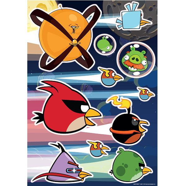 Украшение для стен и предметов интерьера Decoretto Птички в космосе. LA 5002LA 5002Украшение для стен и предметов интерьера Decoretto Птички в космосе с изображением любимых героев компьютерной игры Angry Birds поможет украсить комнату вашего ребенка. Украшение состоит из 12 самоклеющихся элементов. Забавные персонажи из мира Angry Birds поднимут настроение и не дадут скучать хозяевам и гостям дома. Преимущества украшений Decoretto: изготовлены из экологически безопасной самоклеющейся пленки с водоотталкивающей поверхностью, абсолютно безопасны для здоровья детей; быстро и легко наклеиваются на виниловые и флизелиновые обои, плитку, стекла, мебель; при необходимости удобно снимаются, не оставляют следов и не повреждают поверхность (кроме бумажных обоев); если вы решите изменить композицию, то просто снимите наклейки и наклейте их в другом месте; специальный слой защищает поверхность от влаги и выгорания. Decoretto - уникальный способ легко и быстро оживить интерьер, добавить в него уют и радость....