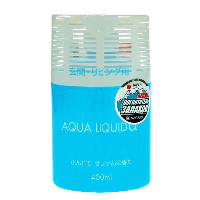 Освежитель воздуха для коридоров и жилых помещений Aqua liquid Мыло, 400 мл02497Дезодорирующие компоненты освежителя Aqua liquid Мыло легко и быстро распространяются по всему пространству помещения, активизируются при наличии в воздухе неприятных запахов, обволакивают и нейтрализуют их. Освежитель воздуха для коридоров и жилых помещений Aqua liquid Мыло: обладает нежным ароматом мыла, имеет простой дизайн, подходящий для любой комнаты, безопасен в применении. Применение: снимите пленки и установите в устойчивое место. Характеристики: Состав: вода 70%, спирт 20%, полиоксиэтиленалкиловый эфир 2%, дезодорирующие вещества 1%, консервант 1%, ароматизатор 1%, краситель 1%. Объем: 400 мл. Размер упаковки: 15 см х 8,5 см х 6 см. Изготовитель: Япония. Артикул: 02497. Товар сертифицирован.