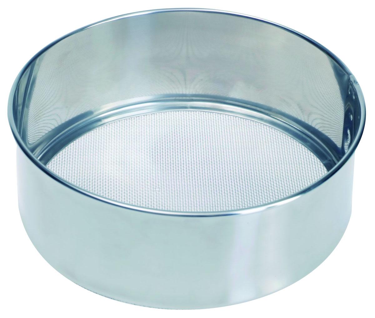 Сито Pronto. Диаметр 21 см93-PRO-32-22Сито Linea Pronto, выполненное из высококачественной нержавеющей стали, станет незаменимым аксессуаром на вашей кухне. Оно предназначено для просеивания муки и процеживания. Прочная стальная сетка и корпус обеспечивают изделию износостойкость и долговечность. Такое сито станет достойным дополнением к кухонному инвентарю.