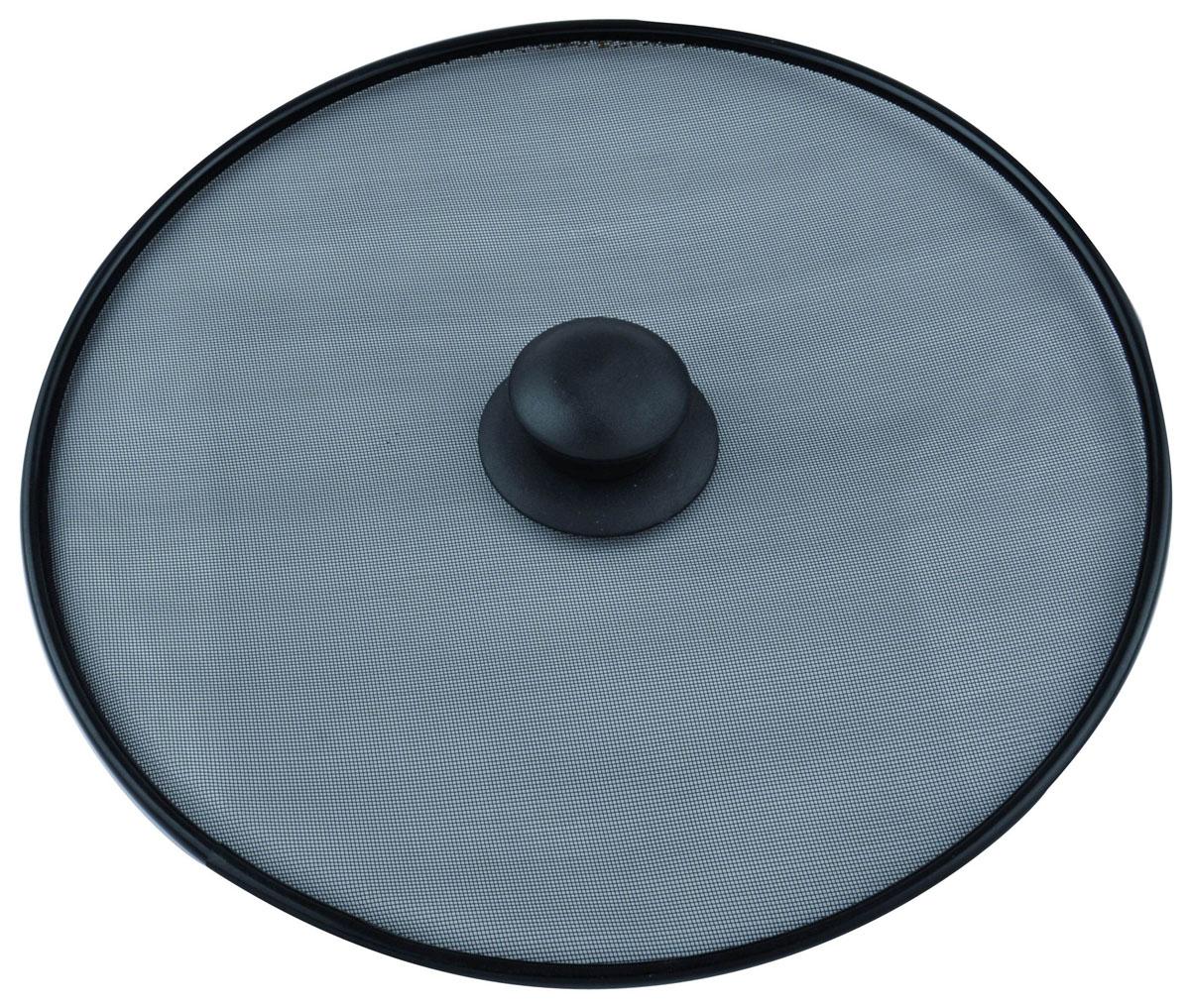 Крышка-защита от брызг Pronto. Диаметр 28 см. 93-PRO-35-2893-PRO-35-28Крышка-защита от брызг Linea Pronto выполнена из высококачественной нержавеющей стали с темным покрытием. Крышка представляет собой прочную стальную сетку на металлическом ободке. Крышка станет надежной защитой от брызг во время приготовления пищи, в то же время она полностью воздухопроницаемая. Крышка оснащена удобной пластиковой ручкой. Характеристики: Материал: нержавеющая сталь, пластик. Диаметр: 28 см. Цвет: черный. Артикул: 93-PRO-35-28.