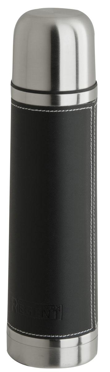 Термос Regent Inox Bullet, 0,7 л. TE-B-7-70093-TE-B-7-700Термос Regent Inox Bullet изготовлен из высококачественной пищевой нержавеющей стали, в оплетке из кожзама, с современной технологией теплоизолляции. Высокая надёжность и долговечность. Имеется глубокий вакуум и двойная металлическая колба, способствующая более длительному сохранению тепла. Термос удобен в использовании дома, на даче, в турпоходе и на рыбалке. Пригодится на работе, в офисе и командировке, экономит электроэнергию и время. Прилагается чехол из кожзама, на ремне.