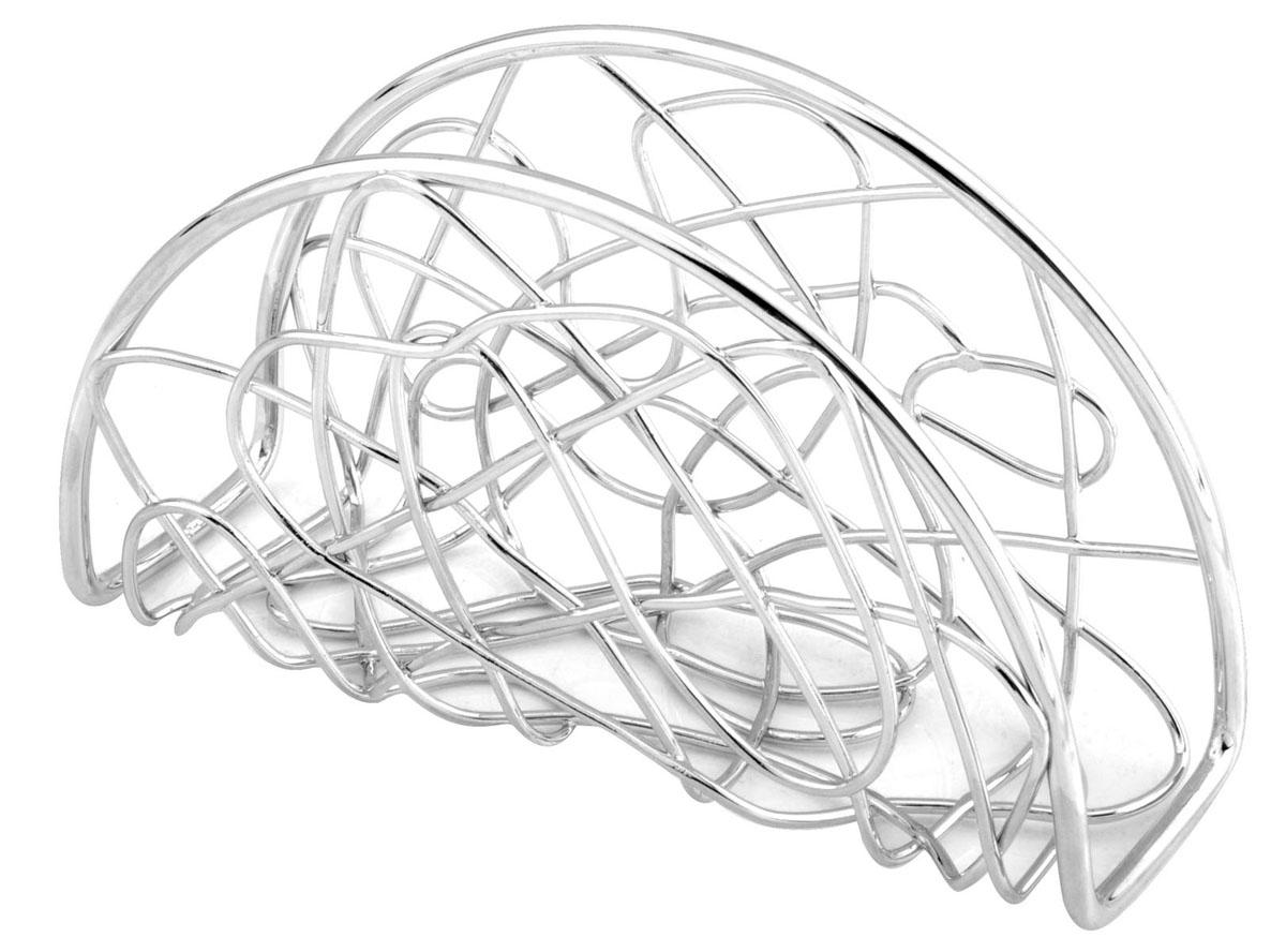 Салфетница Trina. 93-TR-02-0593-TR-02-05Салфетница Trina - это целое произведение искусства выполненное из прутка. Замысловатые завитки позволяют выглядеть салфетнице очень стильно и воздушно. Приобретите этот предмет сервироки и увидите, как приобразиться Ваш стол.