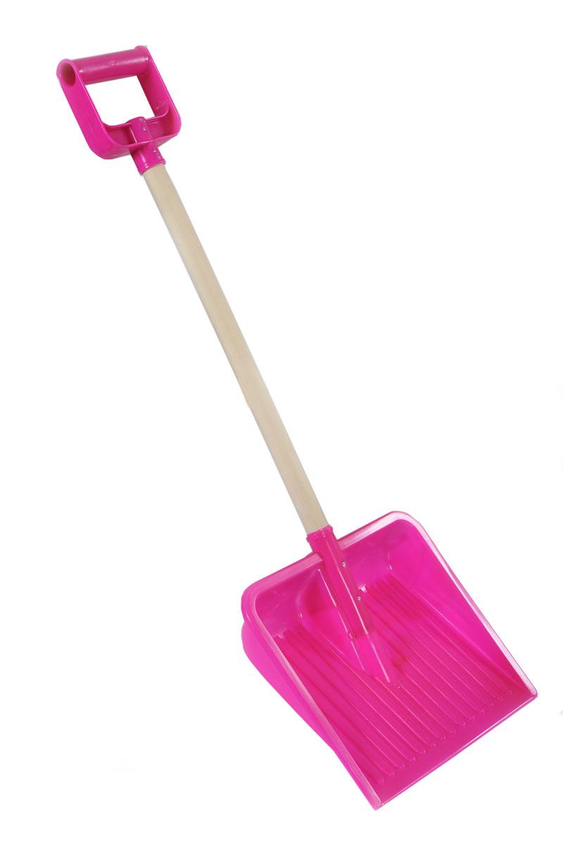 Лопата с деревянной ручкой Plasto, цвет: розовый, 80 см1831BP_розовыйЗимой очень пригодится на улице большая лопата для игры со снегом. Ваш ребенок почувствует себя взрослым, откапывая вместе с Вами занесенный снегом автомобиль. Также, в игре со сверстниками с помощью лопаты детской для снега большого размера можно раскопать большие сугробы снега.
