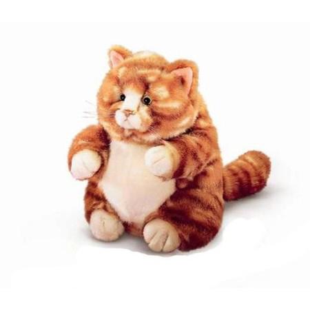 Мягкая игрушка Russ Кот Пруденс, цвет: рыжий, 20 см24159_рыжийМилый толстый котик, напоминает кота из м/ф про попугая Кешу. Такого пушистого толстячка можно полюбить уже за одну только умильную сытую мордочку! Чудесная мягкая игрушка Кот Пруденс станет отличным подарком и верным другом вашему малышу. Модель выполнена из мягкого текстильного материала с полимерными гранулами внутри, способствующими развитию мелкой моторики у детей и эмоциональной релаксации у взрослых.