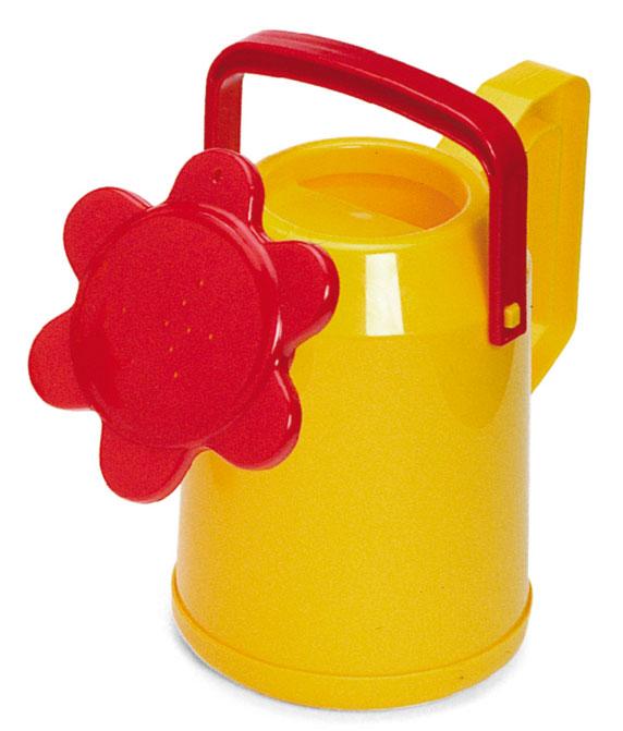 Лейка детская Plasto, цвет: желтый2225_желтыйЯркая детская лейка Plasto, несомненно, привлечет внимание вашего ребенка, и он с большим удовольствием будет ей поливать. Она изготовлена из прочного пластика желтого и красного цветов, распылитель выполнен в виде цветка. Лейка снабжена двумя ручками: с помощью одной удобнее поливать, а с помощью другой - нести лейку. Теперь у вас появится настоящий помощник, который поможет ухаживать за растениями, как дома, так и на приусадебном участке.