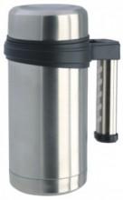 Кружка-термос Regent Inox Gotto, цвет: металлик, 0,5 л93-TE-GO-3-500.1Кружка-термос Regent Inox Gotto удобна для использования в быту, походе и путешествиях. Прекрасно сохраняет температуру напитка. Универсальна, для горячих и холодных напитков. Защищает руки от ожогов, внешняя стенка не нагревается. Компактна, удобна в использовании. Полированная поверхность легко моется. Надежна и долговечна. Экологически безопасна.
