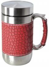 Кружка-термос Regent Inox Gotto, цвет: красный, 0,52 л93-TE-GO-1-520.2Кружка-термос Regent Inox Gotto удобна для использования в быту, походе и путешествиях. Прекрасно сохраняет температуру напитка. Универсальна, для горячих и холодных напитков. Защищает руки от ожогов, внешняя стенка не нагревается. Компактна, удобна в использовании. Полированная поверхность легко моется. Надежна и долговечна. Экологически безопасна.