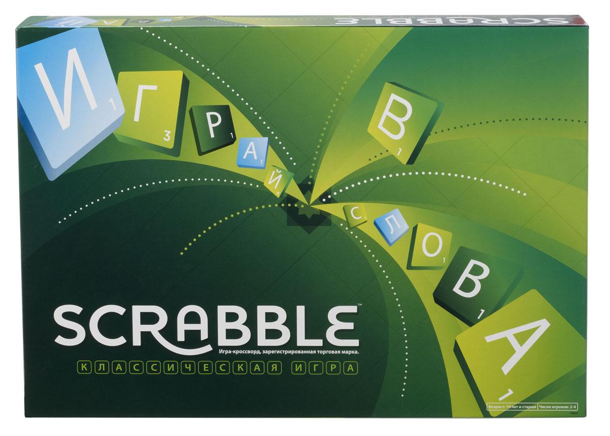"""Mattel Games Настольная игра-кроссворд """"Scrabble классический"""""""