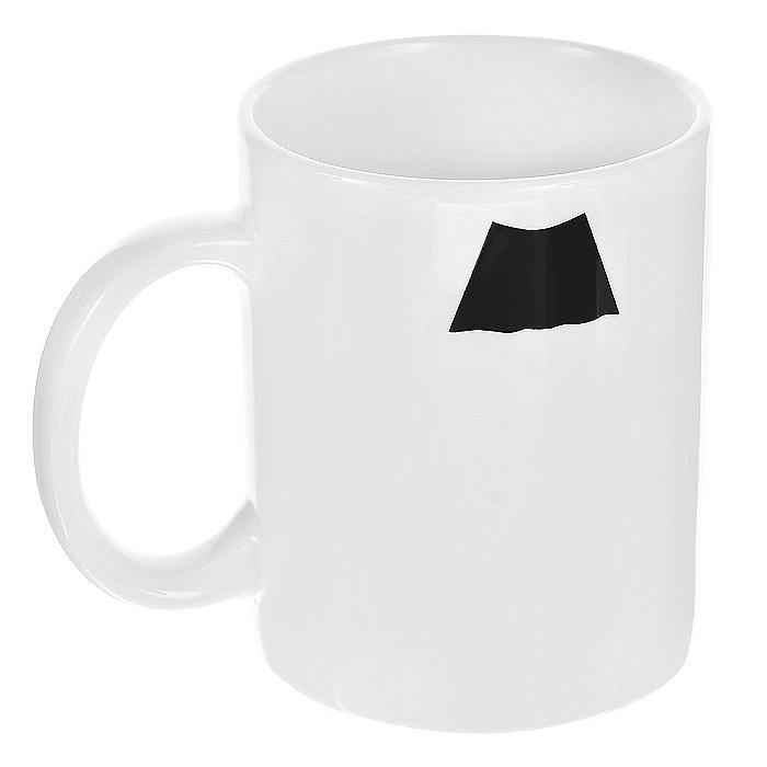 Кружка керамическая Усы. Чарли Чаплин94839Керамическая кружка Усы. Чарли Чаплин станет отличным подарком для человека, ценящего забавные и практичные подарки. Кружка белого цвета оформлена изображением усов в стиле Чарли Чаплина. Такой подарок станет не только приятным, но и практичным сувениром: кружка станет незаменимым атрибутом чаепития, а оригинальный дизайн вызовет улыбку. Характеристики: Материал: керамика. Высота кружки: 9,5 см. Диаметр по верхнему краю: 8 см. Размер упаковки: 11 см х 10 см х 8,5 см. Артикул: 94839.