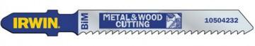Набор пилок для электролобзика по дереву и металлу Irwin, 5 шт. 10504232