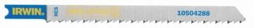 Набор пилок для электролобзика по дереву Irwin, 5 шт. 1050429110504291Набор пилок для электролобзика по дереву Irwin с хвостовиком типа Bosch U101D. 3 вида угла заточки зубьев для быстрой и чистой работы. Быстрая и гладкая резка во всех видах древесины.