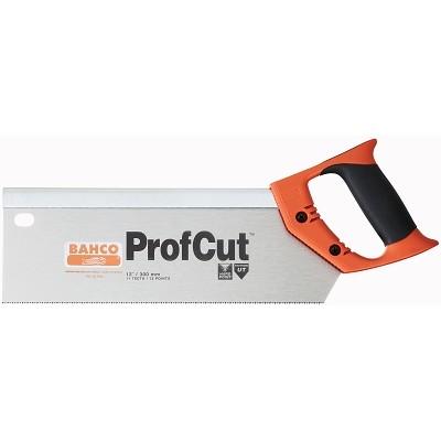 Ножовка с обушком Bahco ProfCut, 30 смPC-12-TENНожовка с обушком предназначена для пиления среднеразмерных заготовок малых диаметров.Двухкомпонентная рукоятка позволяет размечать углы в 45° и 90°.