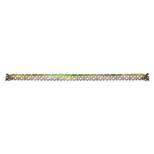 Форма для вырубки Sizzlits Венецианский узор, 32 х 6 см658521С помощью форм для вырубки Sizzlits можно создать фигурку в виде красивого венецианского узора. Формы для вырубки - это определенной формы ножи, обеспечивающие форму вырубной фигуры. Они режут бумагу, картон и ткань. Формы станут незаменимыми при создании скрап-страничек, открыток и конвертов с резными декоративными фигурками и ажурными украшениями. Формы для вырубки разнообразят вашу работу и добавят вдохновения для новых идей. Формы подходят для машинки для вырубки и эмбоссирования Big Shot.