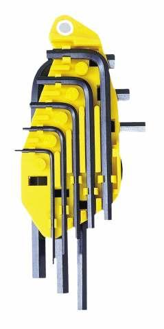 Набор шестигранников Stanley(дюйм), 8 шт0-69-252Набор шестигранников Stanley изготовлен из высокопрочной стали. Для быстрого распознавания ключей имеется маркировка, находящаяся на корпусе. В комплекте 8 ключей.