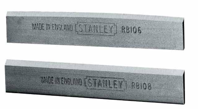 Нож для рубанков Stanley RB-5/RB10, 3 шт. 0-12-3790-12-379Нож Stanley предназначен для рубанка серии RB-5/RB10. Используется для ламината. Заточка лезвия долго сохраняется благодаря хромированной углеродистой стали. Предварительная заточка лезвия под углом 25°.