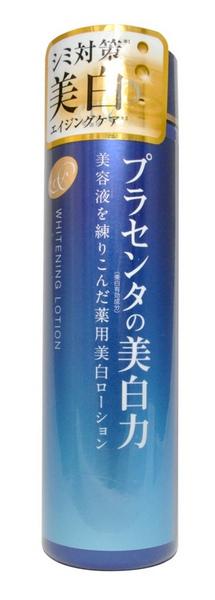 Meishoku Лосьон-молочко с экстрактом плаценты, с отбеливающим эффектом, 180 мл236006Лосьон-молочко Meishoku - антивозрастное средство! Предупреждает появление пигментных пятен! Увлажняет и отбеливает кожу, придавая ей здоровый и сияющий вид! Сила отбеливания - в плаценте! Совмещая действие лосьона и молочка, средство глубоко увлажняет, поддерживает оптимальный уровень влаги в клетках кожи, придает ей упругость и эластичность. Активные компоненты в составе средства обладают увлажняющими, восстанавливающими и отбеливающими свойствами.