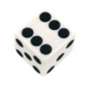 Набор костей игральных Простые, D6, цвета: в ассортименте, 2 шт02000Набор состоит из двух традиционных игральных костей размером 16 мм с точками. Подойдут к любым играм от нард до любых других настольных игр. Изготовлены из пластика.