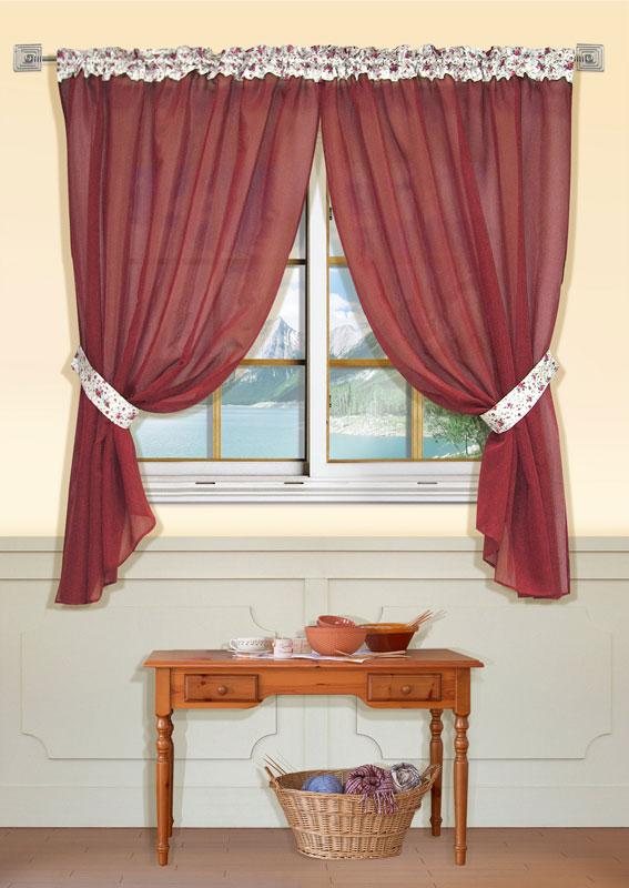 Штора Kauffort Мантис, на ленте, цвет: красный, высота 170 смUN111035675Штора Kauffort Мантис выполнена из полиэстера. Основная часть шторы изготовлена из полотна красного цвета с полупрозрачным сетчатым плетением. Верхняя часть выполнена из плотного непрозрачного полиэстера кремового цвета с цветочным рисунком. Для более изящного расположения шторы на окне прилагается подхват. Качественный материал, оригинальный дизайн и приятная цветовая гамма привлекут к себе внимание и органично впишутся в интерьер помещения. Изделие оснащено шторной лентой для красивой сборки. Штора Kauffort Мантис великолепно украсит любое окно. Характеристики: Материал: 100% полиэстер. Цвет: красный. Размер упаковки: 37 см х 27 см х 3 см. Артикул: UN111035675. В комплект входит: Штора - 1 шт. Размер (Ш х В): 150 см х 170 см (отклонение размера ~1,5%). Подхват - 1 шт. Размер (Ш х В): 8 см х 70 см. УВАЖАЕМЫЕ КЛИЕНТЫ! Обращаем ваше внимание, что в комплект входит одна штора. Вторая...