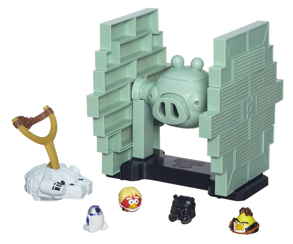 Настольная игра Angry Birds Star Wars Дженга: Истребитель класса Тай