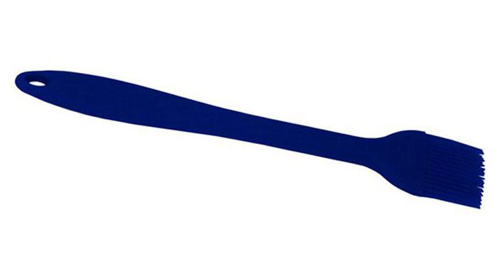 Кисточка кулинарная Doux, цвет: синий, силиконоваяSL-040Кисточка кулинарная Doux изготовлена из высококачественного силикона. Предназначена для нанесения масла или глазури на поверхность выпеченных изделий для придания им золотистой корочки. Высокая теплоустойчивость силикона позволяет кисточке соприкасаться с нагретыми до высоких температур поверхностями.
