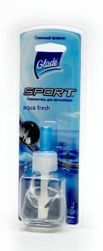 """���������� ������� ��� ���������� Glade Sport """"Aqua Fresh"""", ������� ������, 7 ��"""