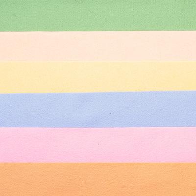Набор лоскутов из войлока Richard Wernekinck Wolgroothander, 20 х 30 см, 6 шт. 560221-Н09560221-Н09Набор Richard Wernekinck Wolgroothander состоит из 6 войлочных лоскутов разных цветов. В набор входят следующие цвета: нежная зелень, светлый лосось, экрю, голубой, розовый, бежевый. Войлок (фетр) произведен в Голландии на фабрике Richarda Wernekincka, где очень строгий контроль за качеством выпускаемой продукции. А многолетний опыт работы позволил добиться в производстве войлока (фетра) самого высокого класса. Данный войлок (фетр) очень мягкий и приятный на ощупь, стойкие, яркие цвета. Работа с ним доставит вам только положительные эмоции, а результат будет радовать вас долгие годы.