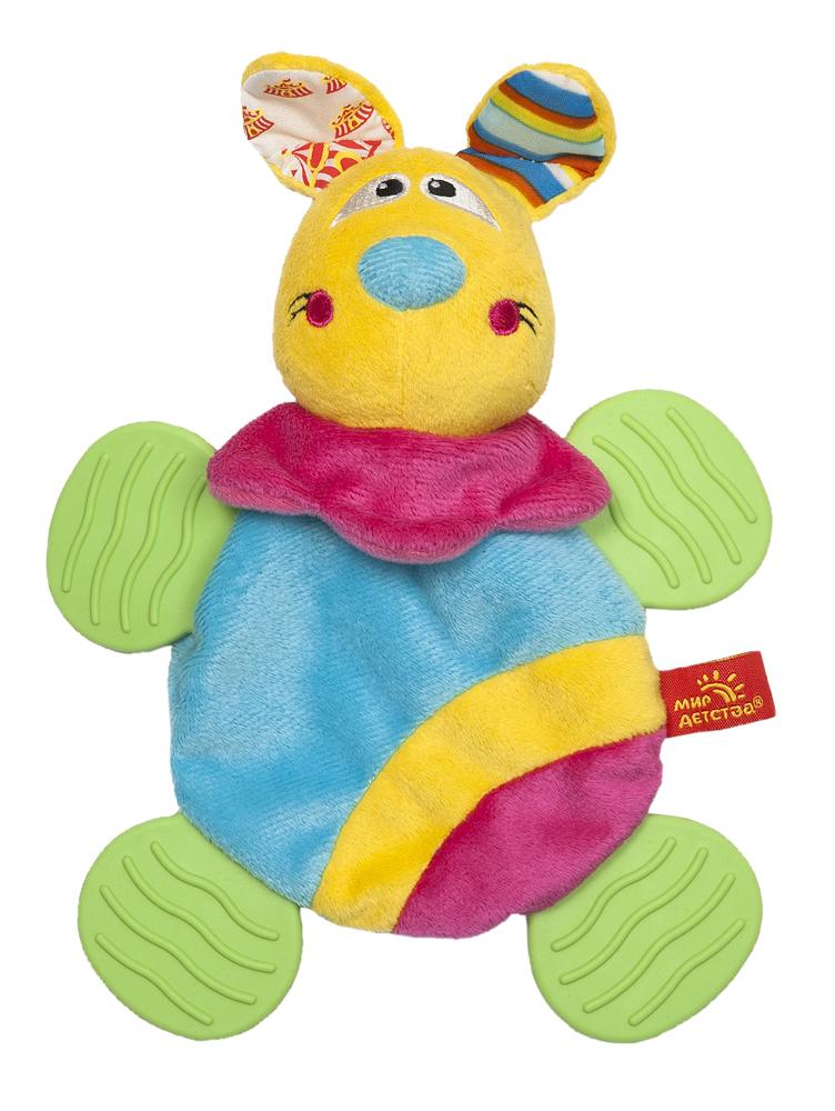 Мягкая игрушка Дрессировщица Алиса33306Мягкая игрушка Дрессировщица Алиса привлечет внимание вашего малыша и не позволит ему скучать! Игрушка выполнена из мягкого велюра разных цветов в виде симпатичной собачки. Ее глазки и щечки вышиты нитками, а ушки шуршат. Если нажать на носик Алисы, малыш услышит звук пищалки. Лапки собачки выполнены из безопасного мягкого пластика, их можно использовать в качестве прорезывателей. Благодаря рельефной поверхности они помогут снять неприятные ощущения при появлении зубов. Благодаря тонкому и мягкому туловищу собачки игрушка очень легкая, ее удобно держать малышу. Яркая игрушка Дрессировщица Алиса поможет малышу в развитии цветового и звукового восприятия, концентрации внимания, мелкой моторики рук, координации движений и тактильных ощущений. Мир детства представляет новую серию игрушек для самых маленьких! Серия Волшебный цирк имеет интересный яркий дизайн, который понравится всем - и детям, и родителям! В линейке представлен широкий ассортимент -...