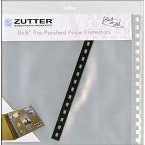 Защитные файлы для страниц Zutter, 20 х 20 см, 6 штZUT7582Защитные файлы для страниц Zutter включают 6 файлов, выполненных из прозрачного полипропилена. Они предназначены для защиты аппликаций, открыток, конвертов и всего того, что поможет вам в создании и хранении творческих работ.