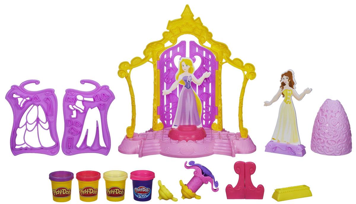 Play-Doh Набор для лепки Бутик для принцесс Дисней, 14 предметов