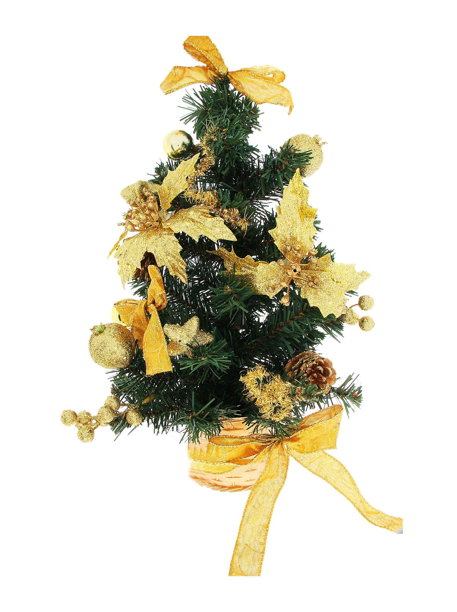 Декоративное украшение Новогодняя елочка. 717986717986Оригинальный дизайн новогодней елки притягивает к себе восторженные взгляды. Елка настенная украшена золотистыми шишками, блестящими лентами, ягодами, шариками и цветами. Елка украсит интерьер вашего дома или офиса к Новому году и создаст теплую и уютную атмосферу праздника. Откройте для себя удивительный мир сказок и грез. Почувствуйте волшебные минуты ожидания праздника, создайте новогоднее настроение вашим дорогим и близким.