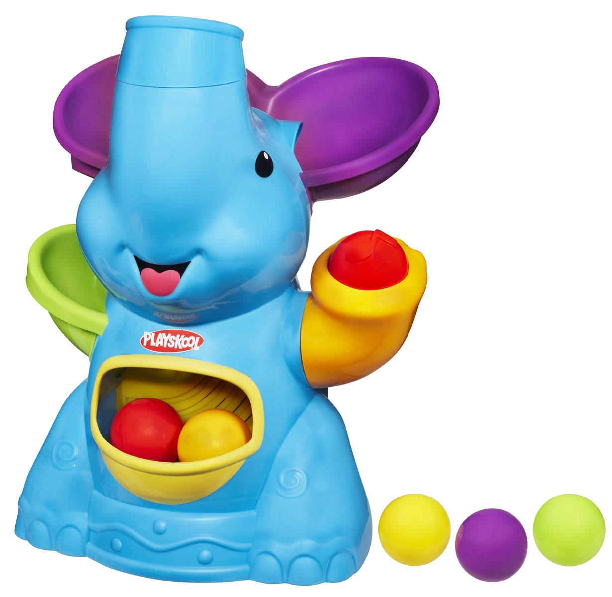 Playskool Игровой набор «Слон», цвет: голубой