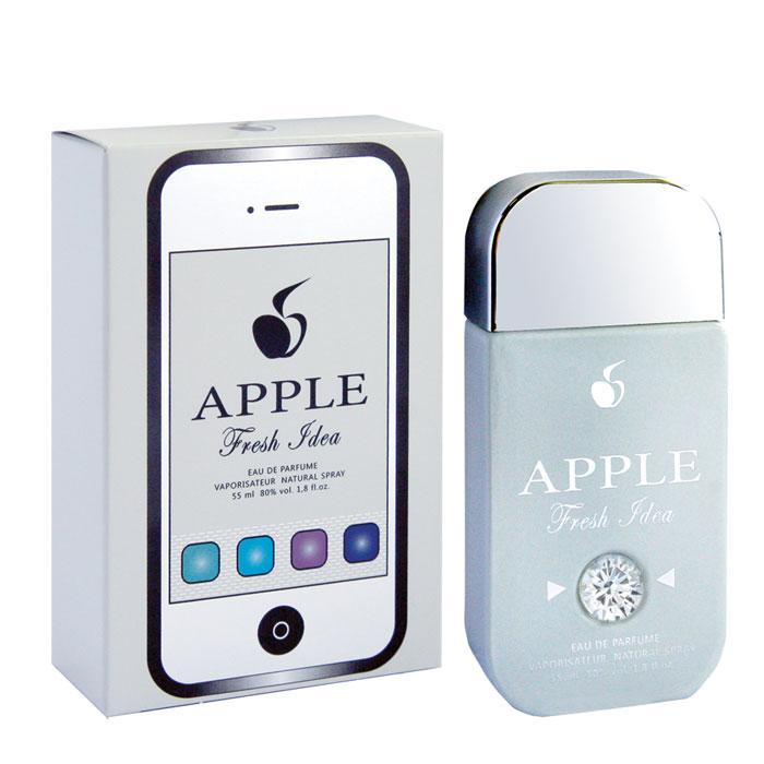 Apple Parfums Парфюмерная вода женская Fresh Idea, 55 мл41889Светлое дыхание, упоение свежестью утра, радостью предстоящих встреч! Кристальная чистота морозного воздуха, или игривый бег весеннего ветра, или дыхание морских просторов - каждый раз, согретый женской кожей, аромат будет рождать новые фантазии, но всегда с оттенками чистоты и прохлады! Эта чудесная мелодия построена на гармонии влажной, немного загадочной красоты лотоса в солнечных бликах цитрусов, как в лучах восходящего солнца. Для натур открытых, устремленных, мечтательных, которым аромат поможет обрести крылья! Классификация аромата : цветочно-водяной. Пирамида аромата : Основные ноты: груша, цитрусы, бамбук, лотос, черная смородина, мускус, зеленый чай. Характеристики: Объем: 55 мл. Производитель: Россия. Самый популярный вид парфюмерной продукции на сегодняшний день - парфюмерная вода. Это объясняется оптимальным балансом цены и качества - с одной стороны, достаточно высокая...