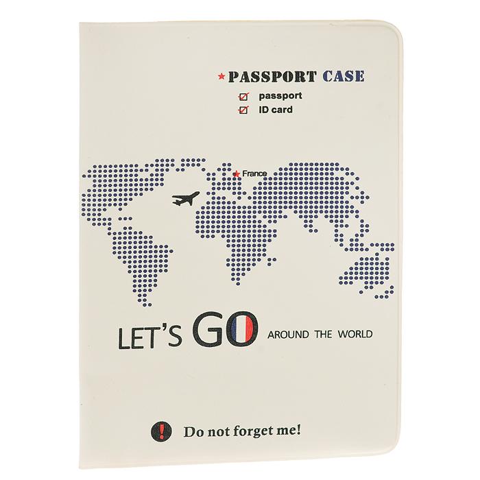 Обложка для паспорта Lets Go France0401046Обложка для паспорта Lets Go France не только поможет сохранить внешний вид ваших документов и защитит их от повреждений, но и станет стильным аксессуаром, идеально подходящим вашему образу. Яркая и оригинальная обложка подчеркнет вашу индивидуальность и изысканный вкус. Обложка для паспорта стильного дизайна может быть достойным и оригинальным подарком.