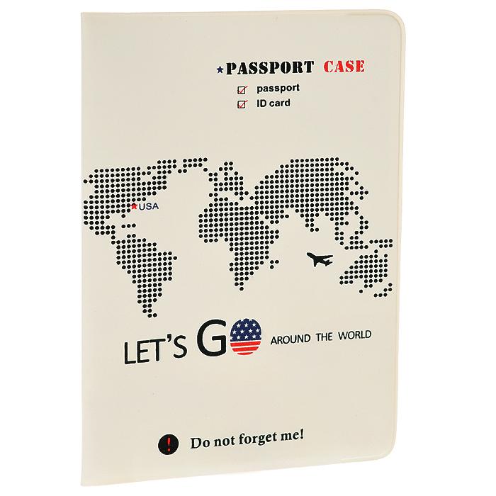 Обложка для паспорта Lets Go USA0401042Обложка для паспорта Lets Go USA не только поможет сохранить внешний вид ваших документов и защитит их от повреждений, но и станет стильным аксессуаром, идеально подходящим вашему образу. Яркая и оригинальная обложка подчеркнет вашу индивидуальность и изысканный вкус. Обложка для паспорта стильного дизайна может быть достойным и оригинальным подарком.