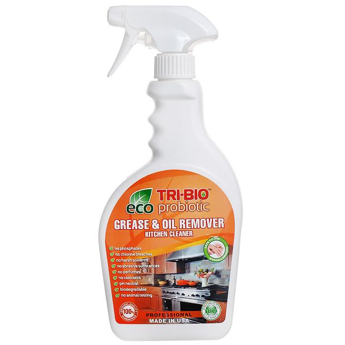 Биосредство для удаления жиров и масел Tri-Bio, 420 мл0230Биосредство Tri-Bio предназначено для чистки кухонной плиты, духовки, вытяжки, микроволновой печи, кухонных поверхностей, пола и др. Эффективно даже при сильном застарелом загрязнении. Ликвидирует запахи, легко проникает в швы, позволяет обеспечить более длительный контроль запаха и более глубокую чистку. Особенности биосредства Tri-Bio для здоровья: Без фосфатов, без растворителей, без хлора отбеливающих веществ, без абразивных веществ, без отдушек, без красителей, без токсичных веществ, нейтральный pH, гипоаллергенно. Безопасная альтернатива химическим аналогам. Присвоен сертификат ECO GREEN. Рекомендуется для людей склонных к аллергическим реакциям и страдающих астмой. Особенности биосредства Tri-Bio для окружающей среды: Низкий уровень ЛОС, легко биоразлагаемо, минимальное влияние на водные организмы, рециклируемые упаковочные материалы, не испытывалось на животных. Особо рекомендуется использовать в домах с автономной канализацией. ...