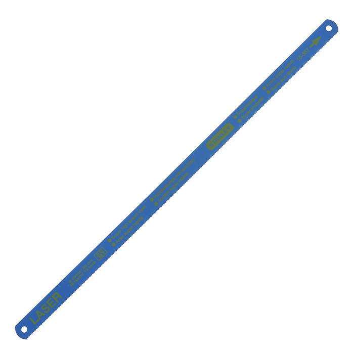 Полотно для ножовки по металлу Stanley Laser, 18 з/д, 10 шт1-15-557Полотно для ножовки по металлу Stanley Laser сделано из закаленной быстрорежущей стали. В комплекте 10 штук.