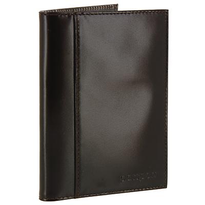 Обложка для паспорта Befler, цвет: темно-коричневый. О.21.-1O.21.-1.brownОбложка для паспорта Befler не только поможет сохранить внешний вид Ваших документов и защитить их от повреждений, но и станет стильным аксессуаром, идеально подходящим Вашему образу. Обложка выполнена из натуральной кожи и оформлена горизонтальным тиснением Passport. Внутри имеет вертикальный карман из прозрачного пластика и вертикальный карман из кожи. Также, на лицевой стороне, имеет дополнительный скрытый карман.