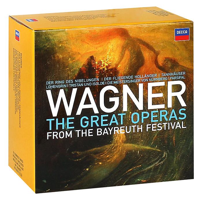 Zakazat.ru: Wagner: The Great Operas From The Bayreuth Festiva (33 CD)