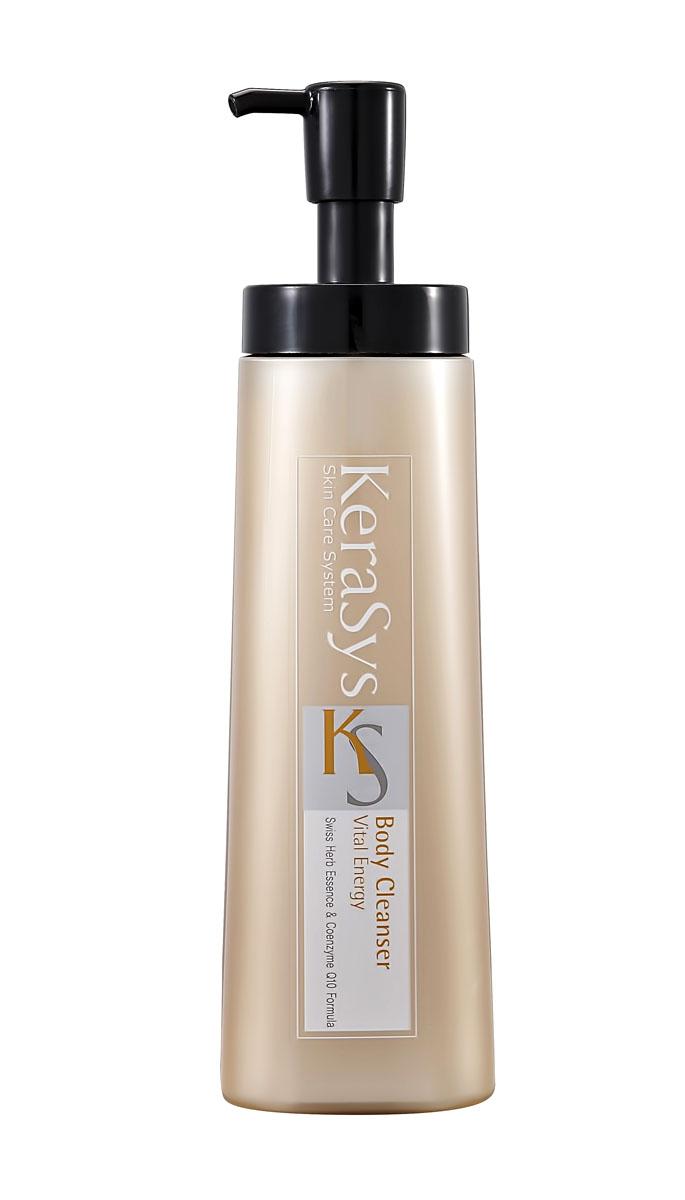 Kerasys Гель для душа Vital Energy, 580 г869277Экстракты альпийских трав успокаивают кожу. Коэнзим Q10 – мощный природный антиоксидант, восстанавливает эластичность кожи, повышает упругость. Легкий аромат розы и спелых фруктов дарит ощущение нежности и комфорта.