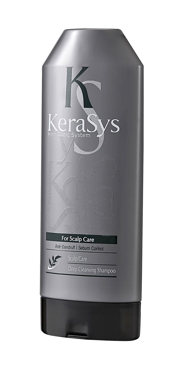 Kerasys Шампунь для волос Лечение кожи головы, освежающий, 200 г