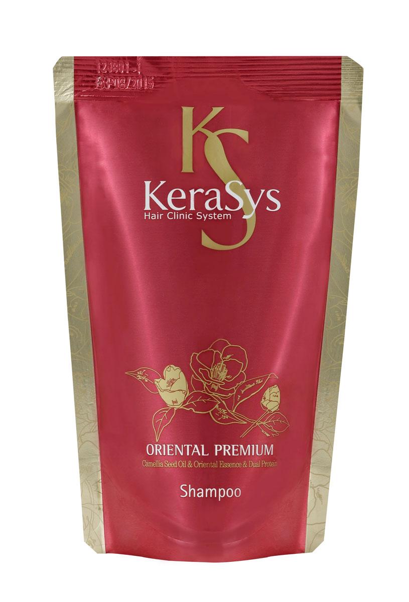 Kerasys Шампунь для волос Oriental Premium, 500 г989845Шампунь для волос Kerasys Oriental Premium - профессиональный уход за волосами в домашних условиях. Специально разработанная формула для всех типов волос, в том числе поврежденных и ослабленных. Волосы обретают жизненную силу, блеск и эластичность. Оказывает солнцезащитное действие. Масло камелии укрепляет хрупкие и ломкие волосы, делает их шелковистыми по всей длине. Кератиновый комплекс питает и разглаживает поврежденный волос. Композиция из шести традиционных восточных трав (женьшень, жгун-корень, орхидея, ангелика, гранат, листья камелии) укрепляет корни волос и предотвращает преждевременное выпадение.