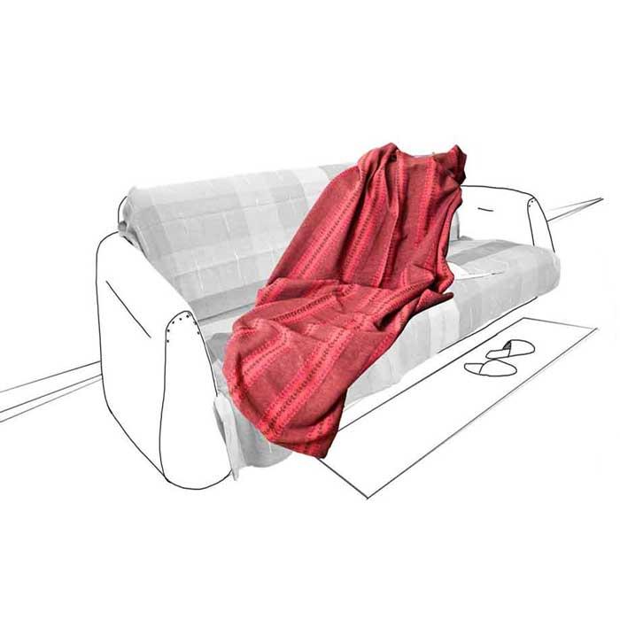 Покрывало Флауэрс, цвет: красный, 160 см х 220 см2038Покрывало Флауэрс выполнено из натурального хлопка, поэтому является экологически чистым. Гипоаллергенность и высочайшее качество материала гарантирует безопасность не только взрослых, но и самых маленьких членов семьи. Кроме того, ткань обработана и при стирке не красится, максимальная усадка ткани не превышает 1%. Покрывало Флауэрс гармонично впишется в интерьер вашего дома и создаст атмосферу уюта и комфорта. Покрывало упаковано в сумку-чехол на застежке-молнии.