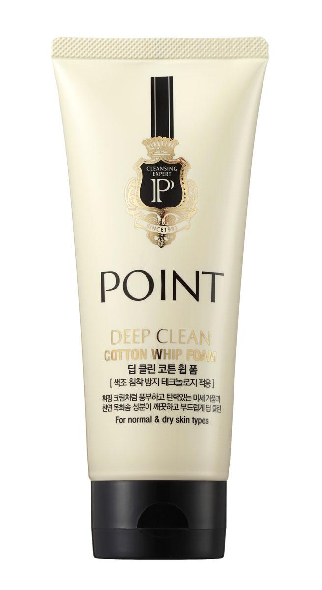 Point Пенка для умывания с хлопком, для нормальной и сухой кожи, 130 г983690Экстракт натурального хлопка создает нежную и пышную пену, подобно взбитым сливкам, смягчает и увлажняет кожу. Органические очищающие компоненты – сапонины бережно, не вызывая раздражения, очищают кожу. Эффективно удаляет загрязнения и макияж, не допуская их повторного впитывания. Антиоксидантные свойства, входящих в состав экстрактов, защищают кожу от преждевременного старения. Кожа обретает свежий, безупречный, сияющий вид. Не содержит парабены, красители, спирты, силикон, триэтаноламин, тальк и другие вредные ингредиенты.