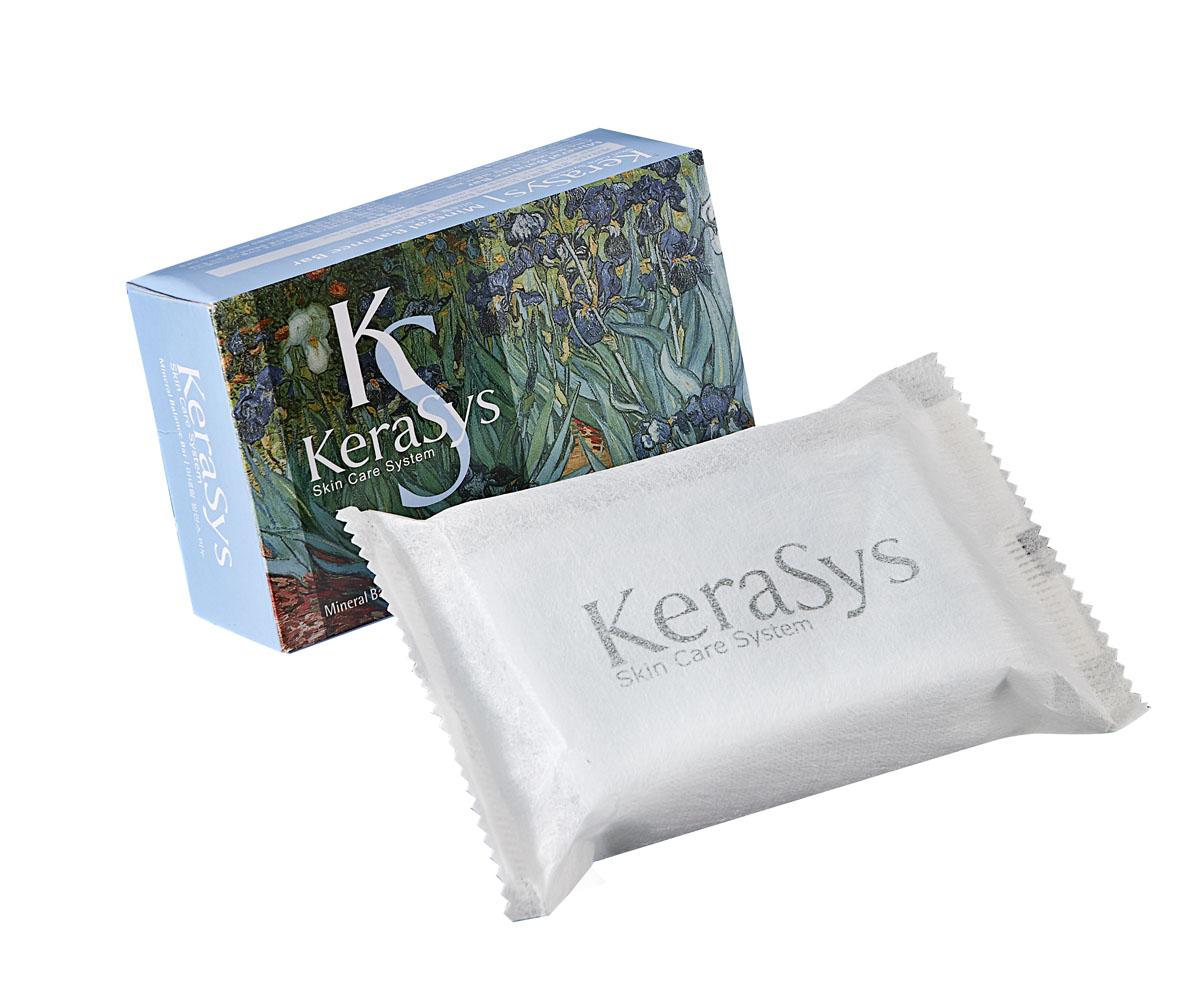 Kerasys Мыло Mineral Balance, косметическое. 100 г869710Мыло Kerasys Mineral Balance содержит экстракты альпийских трав, которые успокаивают кожу. Морские минералы придают коже тонус, делают ее упругой. Миндальное масло смягчает и увлажняет кожу, придает ей упругость и эластичность, предупреждает преждевременное старение. Аромат грейпфрута и зеленых оливок поднимают настроение и дарят ощущение чистоты и свежести надолго. Характеристики: Вес: 100 г. Артикул: 869710. Производитель: Корея. Товар сертифицирован.
