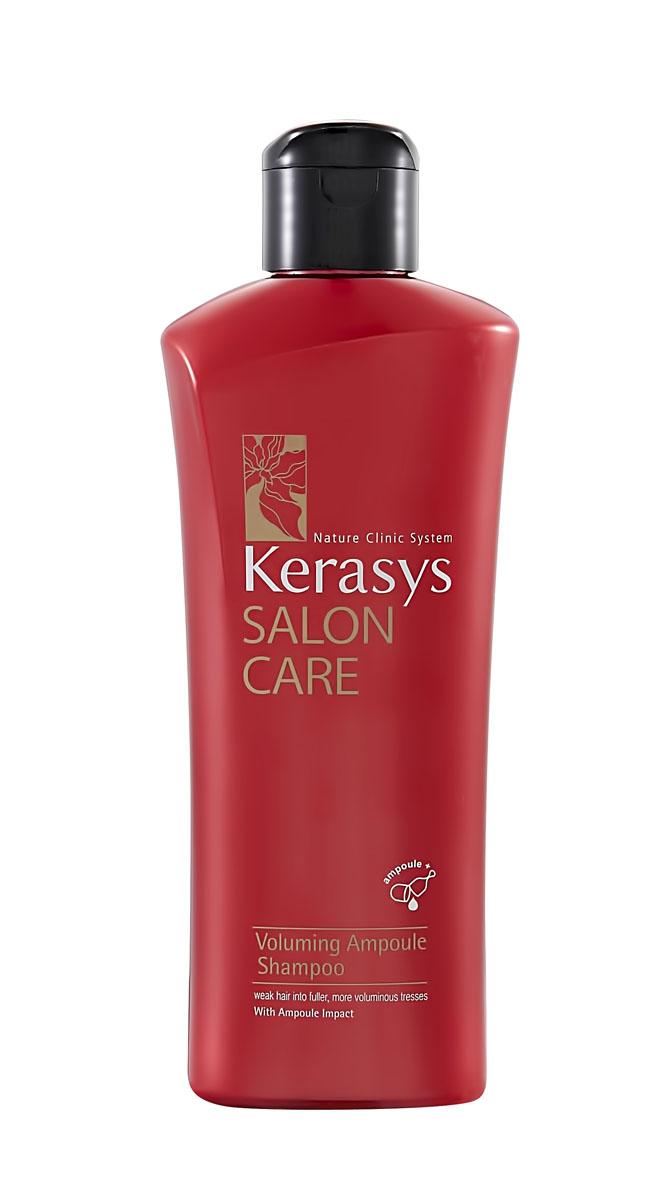 Kerasys Шампунь для волос Salon Care. Объем, 180 мл979341Шампунь для волос Kerasys Salon Care. Объем - профессиональный уход за волосами в домашних условиях. Предназначен для тонких, ослабленных, плохо поддающихся укладке и завивке волос, не держащие объем. Специально разработанная формула с применением лечебных ампул для тонких и ослабленных волос. Протеины семян моринги восполняют нехватку собственных белков в структуре волос, делая их плотными по всей длине. Экстракт базилика улучшает эластичность, придает и сохраняет объем волос. Натуральный кератин и полифенолы красного вина в составе лечебных ампул предотвращают ломкость волос.