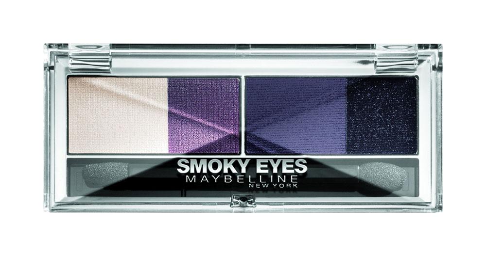 Maybelline New York Тени для век EyeStudio Smoky Eyes, оттенок 33, аметистовый, 5 гB1860501Профессиональная палитра оттенков обеспечивает мягкий переход тонов для создания выразительного макияжа «Смоки-айз». Угольные пигменты обеспечивают стойкий насыщенный цвет для невероятного пронзительного взгляда. 3 оттенка