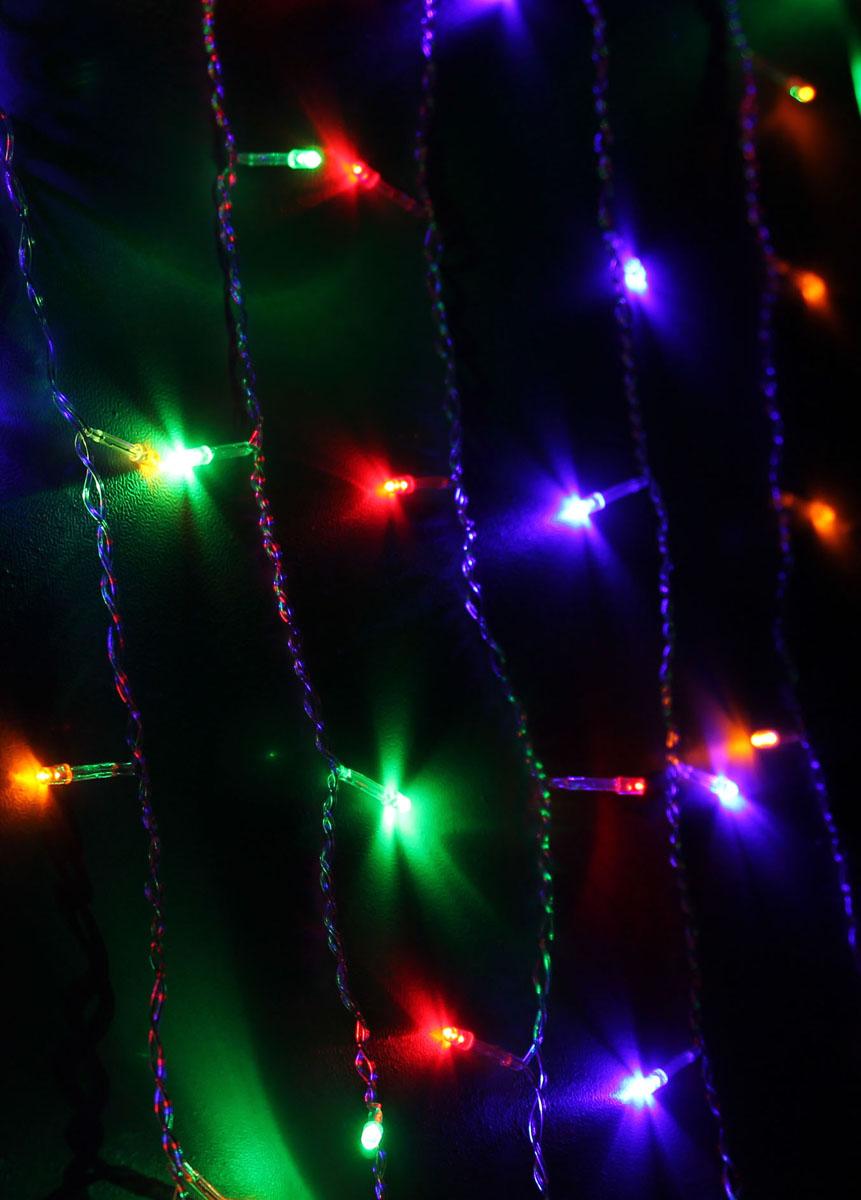 Светодиодный занавес Космос Маленькие лампочки, 200 светодиодов, цвет свечения: мульти, 2,5 мKOC_CUR200LED_RGBСветодиодная гирлянда Космос Маленькие лампочки с пластиковыми насадками в виде небольших лампочек отлично подойдет для украшения новогодней елки, окна или стены. На гирлянде расположено 200 лампочек. Провод гирлянды прозрачного цвета оснащен прямоугольным контролером с кнопкой для переключения восьми режимов. Режимы мигания электрогирлянды: combination (комбинированный); in wales (волна); sequentian (последовательный); slo-glo; chasing/flash (чеканка/вспышка) ; slow fade (медленное затухание); twinkle/flash (мерцание/вспышка); steady on (постоянный). Светодиодная гирлянда Космос Маленькие лампочки создаст праздничную атмосферу и наполнит ваш дом радостью и позитивной энергией. Характеристики: Материал: пластик. Цвет свечения: мульти. Количество светодиодов: 200 шт. Размер занавеса: 2,5 м х 1,1 м. Диаметр лампочки: 0,3 см. Режимы мигания: 8. ...