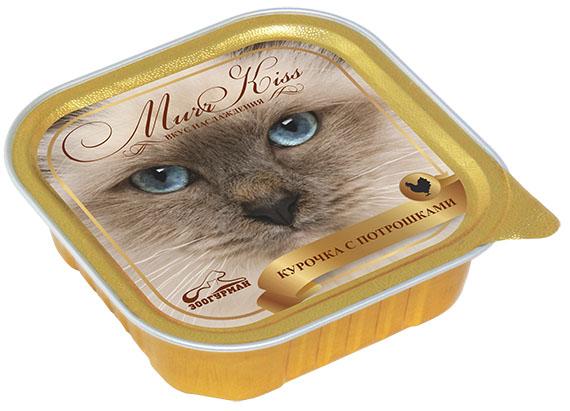 """Консервы для кошек Зоогурман """"Murr Kiss"""", с курочкой и потрошками, 100 г 8771"""