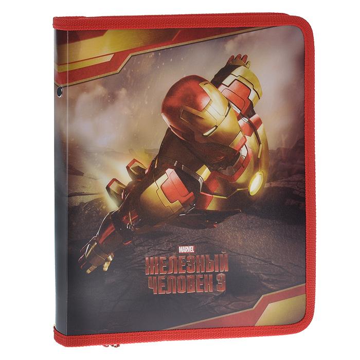 "Папка для тетрадей ""Iron Man"", цвет: красный, Erich Krause"